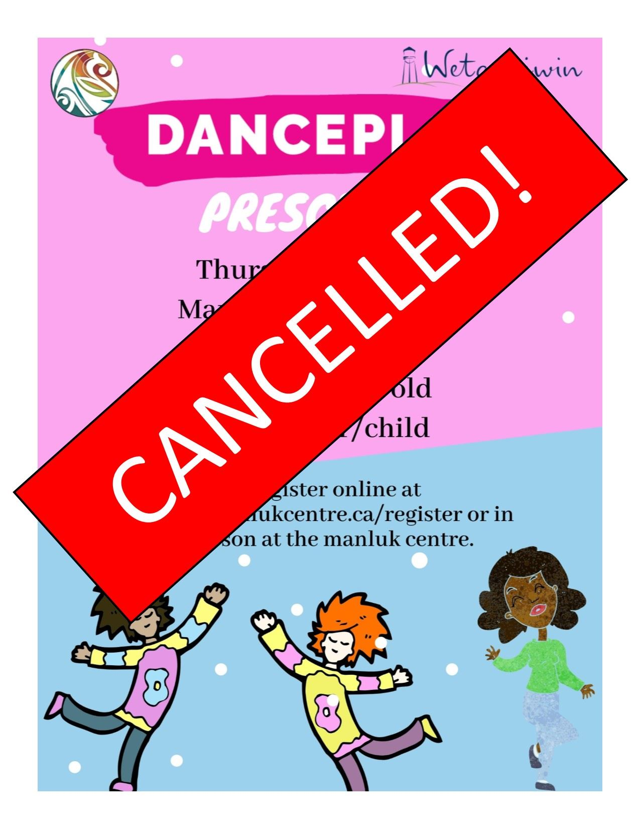 CANCELLED Dancepl3y kids for Winter