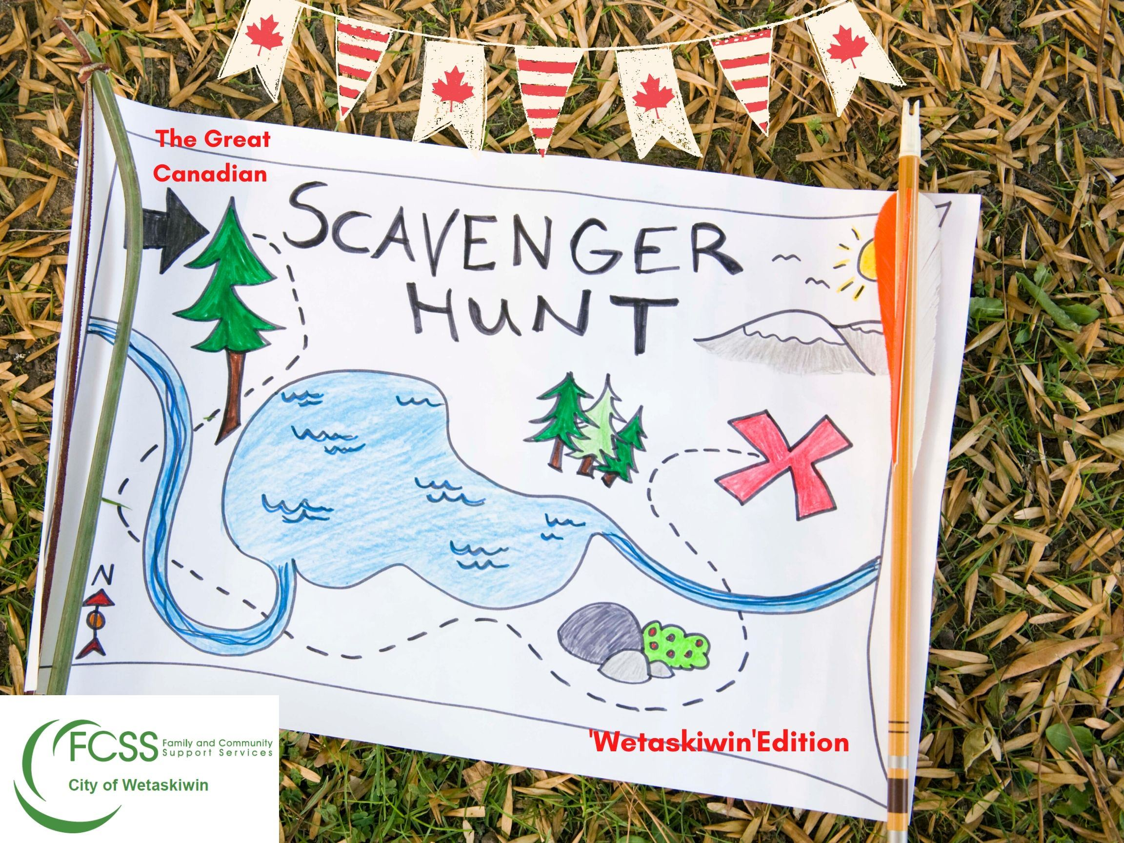 Virtual Canada Day Scavenger Hunt - July 1st
