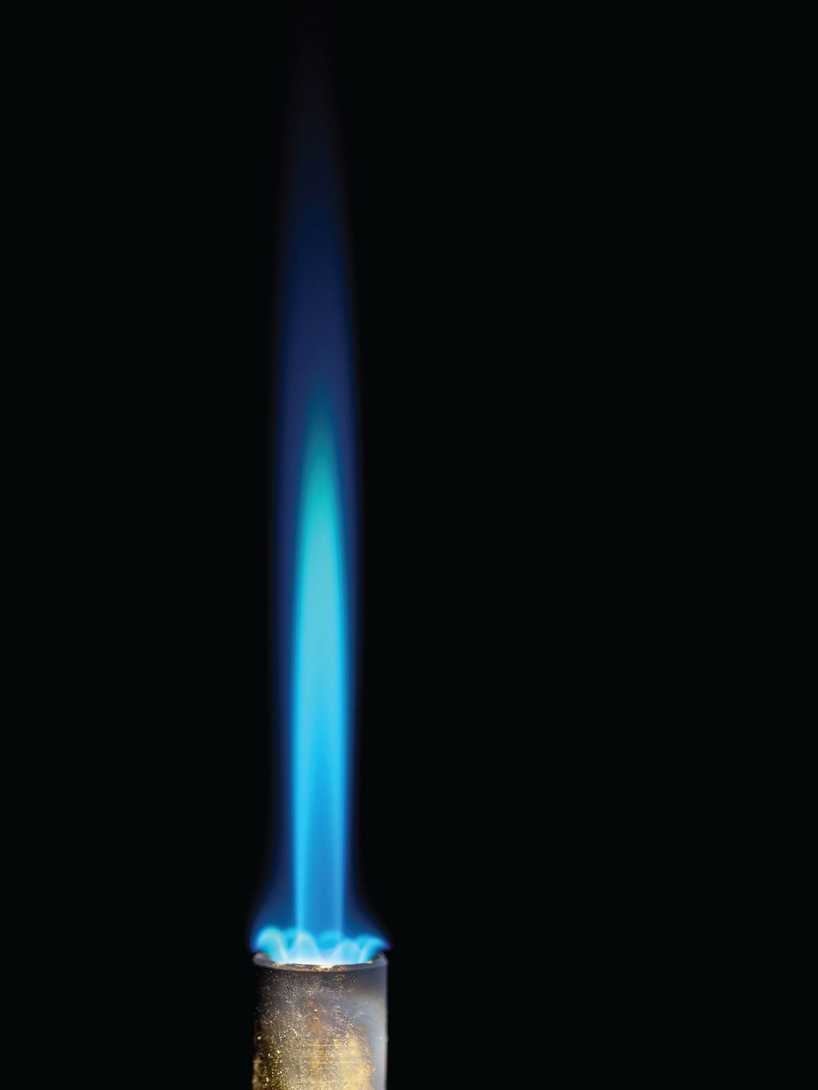 Natural gas flame-blue-01
