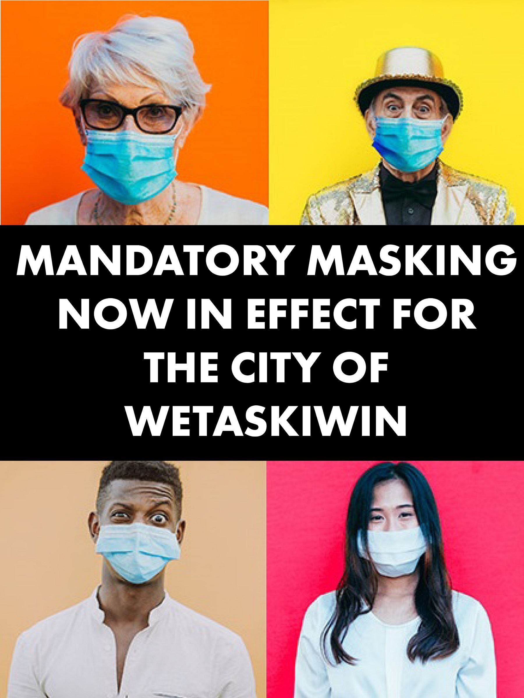 Mandatory masking - newsflash-resized