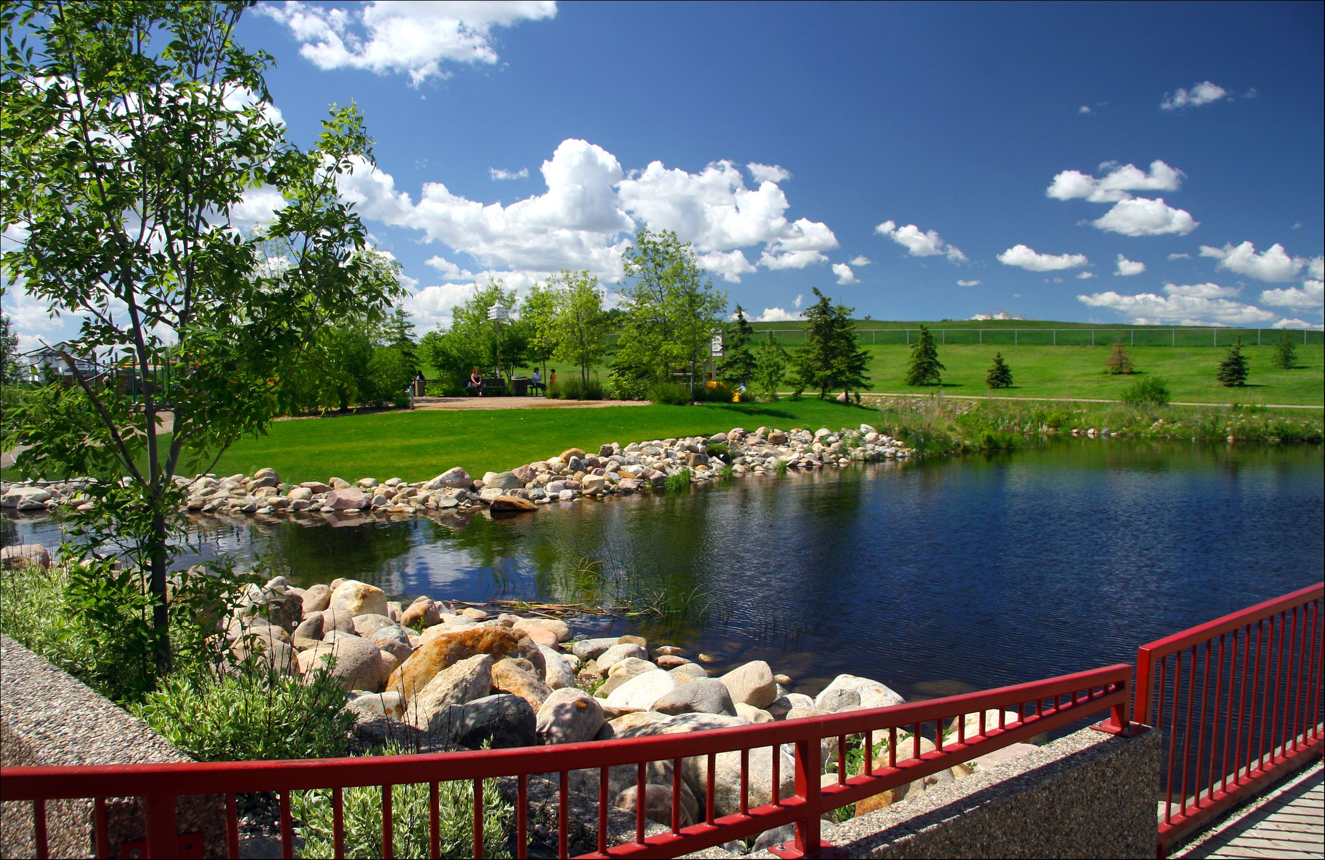 Ashoro Friendship Park in Wetaskiwin